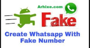 Use Whats app on fake Number