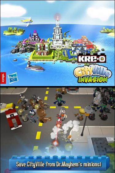 KRE-O CityVille Invasion v1.1.8 Mod + Money